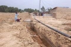 Excavation For Pipe Palcement in Seari bazar Shah